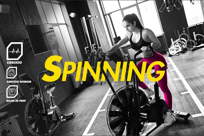 Acelera tu metabolismo con spinning