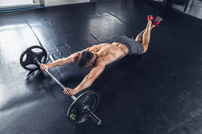rutina intensa de ejercicios para el abdomen