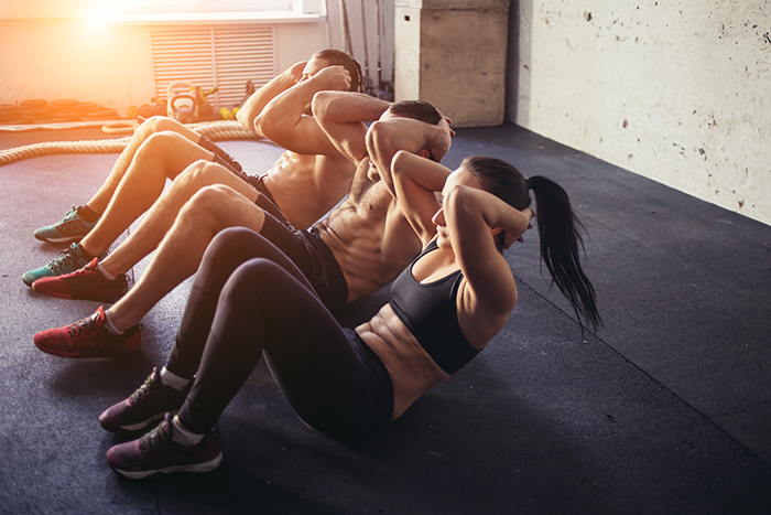 ejercicios para cintura rutina
