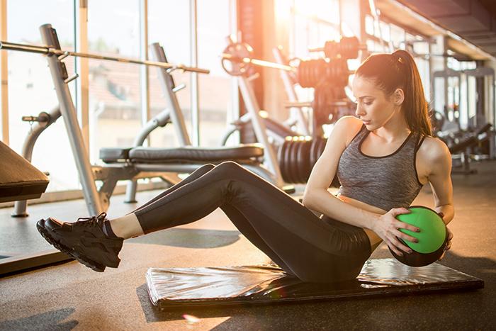 ejercicios para cintura pequeña