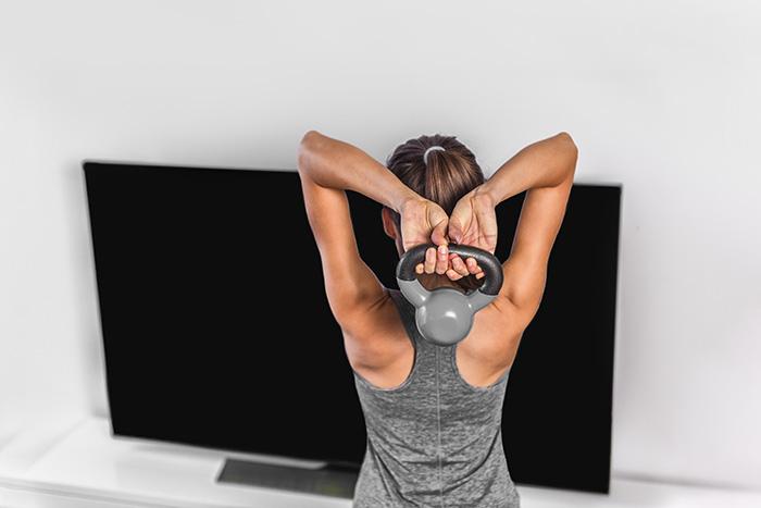 rutina de tríceps
